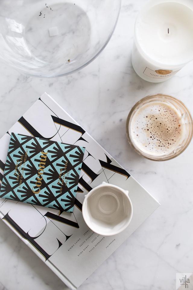 goodio, kahvihetki, suuria unelmia, sisustus, villa h