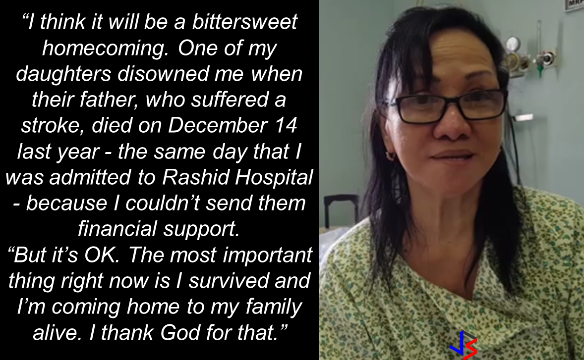 "An OFW who had been abandoned unconscious on the road after suffering a memory loss due to a complication from diabetes in December of 2014 is finally homebound to be with her family in the Philippines. Milagros Chenilla, 63, while on the way to a job interview with some friends has suffered temporary memory loss and fainted, when she woke up, she does not know anything about herself.   She was working as a teacher in Abu Dhabi for 6 years. After she lost her job, Chenilla stayed there for almost a year as an undocumented worker.   A good samaritan fellow OFW Ray Angulo, a volunteer social worker who had helped Chenilla from day one, said her friends left her unconscious on a street in Al Ghusais probably because of fear taht they would get caught by the authorities as they were also illegal residents. Through facebook search and with some friends, Ray helped Chenilla establish her identity while she was being taken care of at the Rashid Hospital.  According to Angulo,""For several days, Chenilla was a 'Jane Doe' in the hospital; she was unknown. She had an episode and fell unconscious. She had no one visiting her, no friends, no one."" Luckily after four days, they were able to trace who she really is. Angulo helped Chenilla in everything including the arrangements for her repatriation, though the Philippine Embassy and the consulate say they aided the repatriation. Chenilla needs to undergo one last operation when she arrived in the Philippines to remove her uterine fibroids. She said she will be taken care by her other daughter.  Though she has been abandoned by her friends and a sibling who is also in Abu Dhabi, she said she found a family with the company of  Angulo and for that she will be forever grateful.  ""I have all but gratitude in my heart right now. I'm finally going home. The feeling is indescribable."" Meanwhile, a home of an OFW in Sitio Abuno, Barangay Pajac, Lapu-Lapu City was robbed.  Maria Longcanaya, 40, an OFW in Saudi Arabia, said she knew them that is why she allowed them to stay at her house for more than two years. To her dismay,  Santos Pangatungan, Danilo Longcanaya and Mae Longcanaya has robbed her house and took away her valuables amounting to P18,775.   According to their neighbor, Victor Emnace Jr., the sudden disappearance of the three suspects had them thought that they did the robbery.  Sources: Gulf News, Sunstar Cebu  RECOMMENDED: At this age where children love to stay on the couch holding their tablets and mobile phones, an elementary student chooses to be active in school and swimming which made him the ""heaviest"" elementary graduate on earth.   A student in Mabalacat, Pampanga raked 58 medals from academic and different fields. On his Facebook post, he said that this time it's heavier compared to the medals he got last year. Joshua Santiago, 12, graduated in Elementary at Mabiga Mabalacat Elementary School in Mabalacat Pampanga earlier this month. His video post with over a million views as of this writing  shows how many medals he got. Most of his medals are from the swimming competitions where he joined and won including a chance to participate at the Palarong pambansa.  His dedication and determination paid off as he graduated. This little guy inspired everyone around him especially his teammates and classmates. To collect more than 10 medals   would be enough but for him it was unbelievable.    In a facebook status, his mother made a clarification that those 58 medals was from his being an excellent swimmer and from his academic excellence. He was also awarded as ""Athlete of the Year"".    Recommended:  A cleaner in Saudi Arabia was mocked on social media after a photo of him looking at jewelry went viral. The Department of Health expressed concern  over possible mental illness among the young people due to the alarming amount of time they spend on social media.  According to DOH spokesman, Eric Tayag, while social media is a way to connect to other people, it also has adverse effects.  Tayag also said that most juveniles that are fond of social media are also involved in bullying, angst and depression.  Bullying and depression can start with issues about love, relationship with the same sex, unplanned pregnancy, problems at school, at home and health problems.  Common symptoms that a person is experiencing depression is that  they do not do daily activities normally like taking a bath, skipping meals, always sad and not engaging in conversations.   {INSERT 2-3 PARAGRAPHS HERE} {INSERT ANOTHER 5 {INSERT 2-3 PARAGRAPH   The severe depression that burdened the young people through social media results to bullying. even social media creates a connection, people with mental health issues perceive it differently.  DOH step is a response to the World Health Organization (WHO) reports that from 2005 to 2015, the number of people who suffer depression that leads to committing suicide has increased to 18%.  WHO celebrated  World health Day that focused on how to cure depression problems. It can be cured by means of counselling.  In 2005, 280 million people suffered from depression and has increased to 332 Million in 2015. This is a serious threat to all the young people around the world including the Filipino youth.  In the records of the DOH HOPE Line, they have received 3,479 depression  related phone calls in 2016. Most number of calls are recorded on November and December last year and on February this year.  Health Secretary Paulyn Jean Ubial said that the DOH has allocated P100 million funds to address the said problem in mental illness . Source: Philstar Recommended: Facebook has been a part of everyday life for many. From here they can be aware of what's currently happening around them, get in touch with old friends, some even sell things and make a living. Social media platforms like facebook provides useful informations from simple shoutouts and statuses to relevant news and current events. But lately, a lot of false news has invaded the social media spreading false and malicious posts. A lot of them is just a click bait which redirects you to a site full of ads. Some money-making maniacs are taking advantage of the popularity of social media sites making it difficult for the netizens to spot a legitimate posts from a fake one.    A wife of an OFW asked OWWA about what sort of  business she can start as a spouse of an OFW who is an active member. Samantha Natividad  said that her husband is an OFW for a long time and she wants to start a business to help her husband as their children are growing up as well as their expenses. As a helpful information for other OFW spouses  who also want to help  their OFW partners, we made this info graphics regarding this topic.  Does OWWA have an existing program for OFWs who want to start their own business? Yes. The Overseas Workers Welfare Administration (OWWA) has  two existing programs under the reintegration program  for those who want to start their own business.  What are those? In the first program, OWWA can give a 'grant' for OFW spouses who want to start even a small scale business. How much is the amount of funds OWWA can provide under this program? The fund that can be granted under this program depends on what kind of business they want to start. However, the maximum amount is only P20,000.   What is the other program? The other program is called a 'special loan program'. this loan program is through partnership with the Development Bank of the Philippines (DBP) and the Land Bank of the Philippines.  How much can an OFW spouse can avail on this program? OFWs and their spouses can avail a loan amounting from P300,000 up to P2,000,000.  How much should be the net income of an OFW to avail of this loan? For an OFW to avail of this loan, he/she must be earning a net monthly income of at least P10,000 to avail the loan amount of P3,000 up to P2 Million.    How much will be the interest rate? The loan will have an interest rate of 7.5% annually.  What will be the mode/frequency of payment? Depending on project's cash flow, the OFW can pay it on monthly, quarterly or annual basis.  Where  should the OFW wife/husband apply to avail these programs? They can apply at any OWWA Regional Welfare Office (ORW) nearest to them.  What are the eligibility requirements  for the  OFW to be qualified to avail? 1. The OFW must be an active OWWA member.  2. OFW husband/wife who want to avail must have completed the Entrepreneurial Development Training (EDT) conducted by NRCO and OWWA ORWsin cooperation with the Department of Trade and Industry/Philippine Trade Training Center (PTTC)/ Bureau of Micro, Small and Medium Enterprise Development (BSMED).  3. They must provide 20% equity.  4. The project or business must generate a net income of at least P10,000 for the OFW.  For details and information regarding these program, you can contact OWWA Regional Offices in your area.  *These information is based on the answer provided by OWWA Deputy Administrator Josefino Torres. Source: BanderaInquirer.net   Recommended:     2017 Top 10 IDEAS for OFWs to Invest  A Filipina based in Waikato, New Zealand has now been sentenced to 11 months and  2 weeks of house arrest after she was convicted for 284 immigration fraud charges involving her visa scam back in October 2015. A 180 hour community service also comes with the sentence. Loraine Anne Jayme, 35, a resident of Te Aroha, Waikato has a dual citizenship. For every OFW who wish to come to New Zealand, she charges $2,250 each. It took some time for the scam to be uncovered because Immigration New Zealand (INZ) didn't initially realise a large portion of the workers were processing their application through the alleged ringleader.   However, Immigration Minister Michael Woodhouse said that more than a thousand Filipinos who might have entered the country illegally  using fake visas could stay.  Mr. Woodland said that they could stay to avoid potential damage to the dairy industry and the rebuilding of Christchurch. There are 38,000  OFWs working on dairy farms in New Zealand and they are living with pretty good reputation with regards to their work ethics and they are worried about what it could mean to them.  ""We're law abiding people. We like to see the law of our land upheld and proper process done,"" Mr Lewis said.   ""So yeah, I have to give credit to Immigration New Zealand for doing it and hopefully they'll be back on deck next week processing them within their required rules,"" he added. The authorities are now auditing farms around the Waikato, Canterbury and Southland. Source: TVNZ, NewsHub, Inquirer RECOMMENDED:  The mother of a 12-year old girl who mysteriously died while on her father's care in Jeddah, Saudi Arabia sought the help of the Philippine government, particularly on the Presidential Action Center to help her forward the case to the DFA to allow the Philippine Consulate in Jeddah  to transmit the autopsy report conducted on her daughter.Bliss Mendoza, an OFW in Canada was working in Jeddah as a nurse together with her husband and daughter ""Tipay"" before she worked in Canada and left her daughter with her husband's care in Jeddah.     The OFWs are the reason why President Rodrigo Duterte is pushing through with the campaign on illegal drugs, acknowledging their hardships and sacrifices. He said that as he visit the countries where there are OFWs, he has heard sad stories about them: sexually abused Filipinas,domestic helpers being forced to work on a number of employers. ""I have been to many places. I have been to the Middle East. You know, the husband is working in one place, the wife in another country. The so many sad stories I hear about our women being raped, abused sexually,"" The President said. About Filipino domestic helpers, he said:  ""If you are working on a family and the employer's sibling doesn't have a helper, you will also work for them. And if in a compound,the son-in-law of the employer is also living in there, you will also work for him.So, they would finish their work on sunrise."" He even refer to the OFWs being similar to the African slaves because of the situation that they have been into for the sake of their families back home. Citing instances that some of them, out of deep despair, resorted to ending their own lives.  The President also said that he finds it heartbreaking to know that after all the sacrifices of the OFWs working abroad for the future of their families they would come home just to learn that their children has been into illegal drugs. ""I made no bones about my hatred. I said, 'If you do drugs in my city, if you destroy our daughters and sons, I'll just have to kill you.' I repeated the same warning when i became president,"" he said.   Critics of the so-called violent war on drugs under President Duterte's administration includes local and international human rights groups, linking the campaign on thousands of drug-related killings.  Police figures show that legitimate police operations have led to over 2,600 deaths of individuals involved in drugs since the war on drugs began. However, the war on drugs has been evident that the extent of drug menace should be taken seriously. The drug personalities includes high ranking officials and they thrive in the expense of our own children,if not being into drugs, being victimized by drug related crimes. The campaign on illegal drugs has somehow made a statement among the drug pushers and addicts. If the common citizen fear walking on the streets at night worrying about the drug addicts lurking in the dark, now they can walk peacefully while the drug addicts hide in fear that the police authorities might get them. Source:GMA {INSERT ALL PARAGRAPHS HERE {EMBED 3 FB PAGES POST FROM JBSOLIS/THOUGHTSKOTO/PEBA HERE OR INSERT 3 LINKS}   ©2017 THOUGHTSKOTO www.jbsolis.com SEARCH JBSOLIS The OFWs are the reason why President Rodrigo Duterte is pushing through with the campaign on illegal drugs, acknowledging their hardships and sacrifices.     ©2017 THOUGHTSKOTO www.jbsolis.com SEARCH JBSOLIS The mother of a 12-year old girl who mysteriously died while on her father's care in Jeddah, Saudi Arabia sought the help of the Philippine government, particularly on the Presidential Action Center to help her forward the case to the DFA to allow the Philippine Consulate in Jeddah  to transmit the autopsy report conducted on her daughter.Bliss Mendoza, an OFW in Canada was working in Jeddah as a nurse together with her husband and daughter ""Tipay"" before she worked in Canada and left her daughter with her husband's care in Jeddah.    The OFWs are the reason why President Rodrigo Duterte is pushing through with the campaign on illegal drugs, acknowledging their hardships and sacrifices. He said that as he visit the countries where there are OFWs, he has heard sad stories about them: sexually abused Filipinas,domestic helpers being forced to work on a number of employers. ""I have been to many places. I have been to the Middle East. You know, the husband is working in one place, the wife in another country. The so many sad stories I hear about our women being raped, abused sexually,"" The President said. About Filipino domestic helpers, he said:  ""If you are working on a family and the employer's sibling doesn't have a helper, you will also work for them. And if in a compound,the son-in-law of the employer is also living in there, you will also work for him.So, they would finish their work on sunrise."" He even refer to the OFWs being similar to the African slaves because of the situation that they have been into for the sake of their families back home. Citing instances that some of them, out of deep despair, resorted to ending their own lives.  The President also said that he finds it heartbreaking to know that after all the sacrifices of the OFWs working abroad for the future of their families they would come home just to learn that their children has been into illegal drugs. ""I made no bones about my hatred. I said, 'If you do drugs in my city, if you destroy our daughters and sons, I'll just have to kill you.' I repeated the same warning when i became president,"" he said.   Critics of the so-called violent war on drugs under President Duterte's administration includes local and international human rights groups, linking the campaign on thousands of drug-related killings.  Police figures show that legitimate police operations have led to over 2,600 deaths of individuals involved in drugs since the war on drugs began. However, the war on drugs has been evident that the extent of drug menace should be taken seriously. The drug personalities includes high ranking officials and they thrive in the expense of our own children,if not being into drugs, being victimized by drug related crimes. The campaign on illegal drugs has somehow made a statement among the drug pushers and addicts. If the common citizen fear walking on the streets at night worrying about the drug addicts lurking in the dark, now they can walk peacefully while the drug addicts hide in fear that the police authorities might get them. Source:GMA {INSERT ALL PARAGRAPHS HERE {EMBED 3 FB PAGES POST FROM JBSOLIS/THOUGHTSKOTO/PEBA HERE OR INSERT 3 LINKS}   ©2017 THOUGHTSKOTO www.jbsolis.com SEARCH JBSOLIS The OFWs are the reason why President Rodrigo Duterte is pushing through with the campaign on illegal drugs, acknowledging their hardships and sacrifices.     ©2017 THOUGHTSKOTO www.jbsolis.com SEARCH JBSOLIS  2017 Top 10 IDEAS for OFWs to Invest  A Filipina based in Waikato, New Zealand has now been sentenced to 11 months and  2 weeks of house arrest after she was convicted for 284 immigration fraud charges involving her visa scam back in October 2015. A 180 hour community service also comes with the sentence. Loraine Anne Jayme, 35, a resident of Te Aroha, Waikato has a dual citizenship. For every OFW who wish to come to New Zealand, she charges $2,250 each. It took some time for the scam to be uncovered because Immigration New Zealand (INZ) didn't initially realise a large portion of the workers were processing their application through the alleged ringleader.   However, Immigration Minister Michael Woodhouse said that more than a thousand Filipinos who might have entered the country illegally  using fake visas could stay.  Mr. Woodland said that they could stay to avoid potential damage to the dairy industry and the rebuilding of Christchurch. There are 38,000  OFWs working on dairy farms in New Zealand and they are living with pretty good reputation with regards to their work ethics and they are worried about what it could mean to them.  ""We're law abiding people. We like to see the law of our land upheld and proper process done,"" Mr Lewis said.   ""So yeah, I have to give credit to Immigration New Zealand for doing it and hopefully they'll be back on deck next week processing them within their required rules,"" he added. The authorities are now auditing farms around the Waikato, Canterbury and Southland. Source: TVNZ, NewsHub, Inquirer RECOMMENDED:  The mother of a 12-year old girl who mysteriously died while on her father's care in Jeddah, Saudi Arabia sought the help of the Philippine government, particularly on the Presidential Action Center to help her forward the case to the DFA to allow the Philippine Consulate in Jeddah  to transmit the autopsy report conducted on her daughter.Bliss Mendoza, an OFW in Canada was working in Jeddah as a nurse together with her husband and daughter ""Tipay"" before she worked in Canada and left her daughter with her husband's care in Jeddah.     The OFWs are the reason why President Rodrigo Duterte is pushing through with the campaign on illegal drugs, acknowledging their hardships and sacrifices. He said that as he visit the countries where there are OFWs, he has heard sad stories about them: sexually abused Filipinas,domestic helpers being forced to work on a number of employers. ""I have been to many places. I have been to the Middle East. You know, the husband is working in one place, the wife in another country. The so many sad stories I hear about our women being raped, abused sexually,"" The President said. About Filipino domestic helpers, he said:  ""If you are working on a family and the employer's sibling doesn't have a helper, you will also work for them. And if in a compound,the son-in-law of the employer is also living in there, you will also work for him.So, they would finish their work on sunrise."" He even refer to the OFWs being similar to the African slaves because of the situation that they have been into for the sake of their families back home. Citing instances that some of them, out of deep despair, resorted to ending their own lives.  The President also said that he finds it heartbreaking to know that after all the sacrifices of the OFWs working abroad for the future of their families they would come home just to learn that their children has been into illegal drugs. ""I made no bones about my hatred. I said, 'If you do drugs in my city, if you destroy our daughters and sons, I'll just have to kill you.' I repeated the same warning when i became president,"" he said.   Critics of the so-called violent war on drugs under President Duterte's administration includes local and international human rights groups, linking the campaign on thousands of drug-related killings.  Police figures show that legitimate police operations have led to over 2,600 deaths of individuals involved in drugs since the war on drugs began. However, the war on drugs has been evident that the extent of drug menace should be taken seriously. The drug personalities includes high ranking officials and they thrive in the expense of our own children,if not being into drugs, being victimized by drug related crimes. The campaign on illegal drugs has somehow made a statement among the drug pushers and addicts. If the common citizen fear walking on the streets at night worrying about the drug addicts lurking in the dark, now they can walk peacefully while the drug addicts hide in fear that the police authorities might get them. Source:GMA {INSERT ALL PARAGRAPHS HERE {EMBED 3 FB PAGES POST FROM JBSOLIS/THOUGHTSKOTO/PEBA HERE OR INSERT 3 LINKS}   ©2017 THOUGHTSKOTO www.jbsolis.com SEARCH JBSOLIS The OFWs are the reason why President Rodrigo Duterte is pushing through with the campaign on illegal drugs, acknowledging their hardships and sacrifices.     ©2017 THOUGHTSKOTO www.jbsolis.com SEARCH JBSOLIS The mother of a 12-year old girl who mysteriously died while on her father's care in Jeddah, Saudi Arabia sought the help of the Philippine government, particularly on the Presidential Action Center to help her forward the case to the DFA to allow the Philippine Consulate in Jeddah  to transmit the autopsy report conducted on her daughter.Bliss Mendoza, an OFW in Canada was working in Jeddah as a nurse together with her husband and daughter ""Tipay"" before she worked in Canada and left her daughter with her husband's care in Jeddah.   The OFWs are the reason why President Rodrigo Duterte is pushing through with the campaign on illegal drugs, acknowledging their hardships and sacrifices. He said that as he visit the countries where there are OFWs, he has heard sad stories about them: sexually abused Filipinas,domestic helpers being forced to work on a number of employers. ""I have been to many places. I have been to the Middle East. You know, the husband is working in one place, the wife in another country. The so many sad stories I hear about our women being raped, abused sexually,"" The President said. About Filipino domestic helpers, he said:  ""If you are working on a family and the employer's sibling doesn't have a helper, you will also work for them. And if in a compound,the son-in-law of the employer is also living in there, you will also work for him.So, they would finish their work on sunrise."" He even refer to the OFWs being similar to the African slaves because of the situation that they have been into for the sake of their families back home. Citing instances that some of them, out of deep despair, resorted to ending their own lives.  The President also said that he finds it heartbreaking to know that after all the sacrifices of the OFWs working abroad for the future of their families they would come home just to learn that their children has been into illegal drugs. ""I made no bones about my hatred. I said, 'If you do drugs in my city, if you destroy our daughters and sons, I'll just have to kill you.' I repeated the same warning when i became president,"" he said.   Critics of the so-called violent war on drugs under President Duterte's administration includes local and international human rights groups, linking the campaign on thousands of drug-related killings.  Police figures show that legitimate police operations have led to over 2,600 deaths of individuals involved in drugs since the war on drugs began. However, the war on drugs has been evident that the extent of drug menace should be taken seriously. The drug personalities includes high ranking officials and they thrive in the expense of our own children,if not being into drugs, being victimized by drug related crimes. The campaign on illegal drugs has somehow made a statement among the drug pushers and addicts. If the common citizen fear walking on the streets at night worrying about the drug addicts lurking in the dark, now they can walk peacefully while the drug addicts hide in fear that the police authorities might get them. Source:GMA {INSERT ALL PARAGRAPHS HERE {EMBED 3 FB PAGES POST FROM JBSOLIS/THOUGHTSKOTO/PEBA HERE OR INSERT 3 LINKS}   ©2017 THOUGHTSKOTO www.jbsolis.com SEARCH JBSOLIS The OFWs are the reason why President Rodrigo Duterte is pushing through with the campaign on illegal drugs, acknowledging their hardships and sacrifices.  ©2017 THOUGHTSKOTO www.jbsolis.com SEARCH JBSOLISFacebook has been a part of everyday life for many. From here they can be aware of what's currently happening around them, get in touch with old friends, some even sell things and make a living. Social media platforms like facebook provides useful informations from simple shoutouts and statuses to relevant news and current events. But lately, a lot of false news has invaded the social media spreading false and malicious posts. A lot of them is just a click bait which redirects you to a site full of ads. Some money-making maniacs are taking advantage of the popularity of social media sites making it difficult for the netizens to spot a legitimate posts from a fake one.    A wife of an OFW asked OWWA about what sort of  business she can start as a spouse of an OFW who is an active member. Samantha Natividad  said that her husband is an OFW for a long time and she wants to start a business to help her husband as their children are growing up as well as their expenses. As a helpful information for other OFW spouses  who also want to help  their OFW partners, we made this info graphics regarding this topic.  Does OWWA have an existing program for OFWs who want to start their own business? Yes. The Overseas Workers Welfare Administration (OWWA) has  two existing programs under the reintegration program  for those who want to start their own business.  What are those? In the first program, OWWA can give a 'grant' for OFW spouses who want to start even a small scale business. How much is the amount of funds OWWA can provide under this program? The fund that can be granted under this program depends on what kind of business they want to start. However, the maximum amount is only P20,000.   What is the other program? The other program is called a 'special loan program'. this loan program is through partnership with the Development Bank of the Philippines (DBP) and the Land Bank of the Philippines.  How much can an OFW spouse can avail on this program? OFWs and their spouses can avail a loan amounting from P300,000 up to P2,000,000.  How much should be the net income of an OFW to avail of this loan? For an OFW to avail of this loan, he/she must be earning a net monthly income of at least P10,000 to avail the loan amount of P3,000 up to P2 Million.    How much will be the interest rate? The loan will have an interest rate of 7.5% annually.  What will be the mode/frequency of payment? Depending on project's cash flow, the OFW can pay it on monthly, quarterly or annual basis.  Where  should the OFW wife/husband apply to avail these programs? They can apply at any OWWA Regional Welfare Office (ORW) nearest to them.  What are the eligibility requirements  for the  OFW to be qualified to avail? 1. The OFW must be an active OWWA member.  2. OFW husband/wife who want to avail must have completed the Entrepreneurial Development Training (EDT) conducted by NRCO and OWWA ORWsin cooperation with the Department of Trade and Industry/Philippine Trade Training Center (PTTC)/ Bureau of Micro, Small and Medium Enterprise Development (BSMED).  3. They must provide 20% equity.  4. The project or business must generate a net income of at least P10,000 for the OFW.  For details and information regarding these program, you can contact OWWA Regional Offices in your area.  *These information is based on the answer provided by OWWA Deputy Administrator Josefino Torres. Source: BanderaInquirer.net   Recommended:     2017 Top 10 IDEAS for OFWs to Invest  A Filipina based in Waikato, New Zealand has now been sentenced to 11 months and  2 weeks of house arrest after she was convicted for 284 immigration fraud charges involving her visa scam back in October 2015. A 180 hour community service also comes with the sentence. Loraine Anne Jayme, 35, a resident of Te Aroha, Waikato has a dual citizenship. For every OFW who wish to come to New Zealand, she charges $2,250 each. It took some time for the scam to be uncovered because Immigration New Zealand (INZ) didn't initially realise a large portion of the workers were processing their application through the alleged ringleader.   However, Immigration Minister Michael Woodhouse said that more than a thousand Filipinos who might have entered the country illegally  using fake visas could stay.  Mr. Woodland said that they could stay to avoid potential damage to the dairy industry and the rebuilding of Christchurch. There are 38,000  OFWs working on dairy farms in New Zealand and they are living with pretty good reputation with regards to their work ethics and they are worried about what it could mean to them.  ""We're law abiding people. We like to see the law of our land upheld and proper process done,"" Mr Lewis said.   ""So yeah, I have to give credit to Immigration New Zealand for doing it and hopefully they'll be back on deck next week processing them within their required rules,"" he added. The authorities are now auditing farms around the Waikato, Canterbury and Southland. Source: TVNZ, NewsHub, Inquirer RECOMMENDED:  The mother of a 12-year old girl who mysteriously died while on her father's care in Jeddah, Saudi Arabia sought the help of the Philippine government, particularly on the Presidential Action Center to help her forward the case to the DFA to allow the Philippine Consulate in Jeddah  to transmit the autopsy report conducted on her daughter.Bliss Mendoza, an OFW in Canada was working in Jeddah as a nurse together with her husband and daughter ""Tipay"" before she worked in Canada and left her daughter with her husband's care in Jeddah.     The OFWs are the reason why President Rodrigo Duterte is pushing through with the campaign on illegal drugs, acknowledging their hardships and sacrifices. He said that as he visit the countries where there are OFWs, he has heard sad stories about them: sexually abused Filipinas,domestic helpers being forced to work on a number of employers. ""I have been to many places. I have been to the Middle East. You know, the husband is working in one place, the wife in another country. The so many sad stories I hear about our women being raped, abused sexually,"" The President said. About Filipino domestic helpers, he said:  ""If you are working on a family and the employer's sibling doesn't have a helper, you will also work for them. And if in a compound,the son-in-law of the employer is also living in there, you will also work for him.So, they would finish their work on sunrise."" He even refer to the OFWs being similar to the African slaves because of the situation that they have been into for the sake of their families back home. Citing instances that some of them, out of deep despair, resorted to ending their own lives.  The President also said that he finds it heartbreaking to know that after all the sacrifices of the OFWs working abroad for the future of their families they would come home just to learn that their children has been into illegal drugs. ""I made no bones about my hatred. I said, 'If you do drugs in my city, if you destroy our daughters and sons, I'll just have to kill you.' I repeated the same warning when i became president,"" he said.   Critics of the so-called violent war on drugs under President Duterte's administration includes local and international human rights groups, linking the campaign on thousands of drug-related killings.  Police figures show that legitimate police operations have led to over 2,600 deaths of individuals involved in drugs since the war on drugs began. However, the war on drugs has been evident that the extent of drug menace should be taken seriously. The drug personalities includes high ranking officials and they thrive in the expense of our own children,if not being into drugs, being victimized by drug related crimes. The campaign on illegal drugs has somehow made a statement among the drug pushers and addicts. If the common citizen fear walking on the streets at night worrying about the drug addicts lurking in the dark, now they can walk peacefully while the drug addicts hide in fear that the police authorities might get them. Source:GMA {INSERT ALL PARAGRAPHS HERE {EMBED 3 FB PAGES POST FROM JBSOLIS/THOUGHTSKOTO/PEBA HERE OR INSERT 3 LINKS}   ©2017 THOUGHTSKOTO www.jbsolis.com SEARCH JBSOLIS The OFWs are the reason why President Rodrigo Duterte is pushing through with the campaign on illegal drugs, acknowledging their hardships and sacrifices.     ©2017 THOUGHTSKOTO www.jbsolis.com SEARCH JBSOLIS The mother of a 12-year old girl who mysteriously died while on her father's care in Jeddah, Saudi Arabia sought the help of the Philippine government, particularly on the Presidential Action Center to help her forward the case to the DFA to allow the Philippine Consulate in Jeddah  to transmit the autopsy report conducted on her daughter.Bliss Mendoza, an OFW in Canada was working in Jeddah as a nurse together with her husband and daughter ""Tipay"" before she worked in Canada and left her daughter with her husband's care in Jeddah.    The OFWs are the reason why President Rodrigo Duterte is pushing through with the campaign on illegal drugs, acknowledging their hardships and sacrifices. He said that as he visit the countries where there are OFWs, he has heard sad stories about them: sexually abused Filipinas,domestic helpers being forced to work on a number of employers. ""I have been to many places. I have been to the Middle East. You know, the husband is working in one place, the wife in another country. The so many sad stories I hear about our women being raped, abused sexually,"" The President said. About Filipino domestic helpers, he said:  ""If you are working on a family and the employer's sibling doesn't have a helper, you will also work for them. And if in a compound,the son-in-law of the employer is also living in there, you will also work for him.So, they would finish their work on sunrise."" He even refer to the OFWs being similar to the African slaves because of the situation that they have been into for the sake of their families back home. Citing instances that some of them, out of deep despair, resorted to ending their own lives.  The President also said that he finds it heartbreaking to know that after all the sacrifices of the OFWs working abroad for the future of their families they would come home just to learn that their children has been into illegal drugs. ""I made no bones about my hatred. I said, 'If you do drugs in my city, if you destroy our daughters and sons, I'll just have to kill you.' I repeated the same warning when i became president,"" he said.   Critics of the so-called violent war on drugs under President Duterte's administration includes local and international human rights groups, linking the campaign on thousands of drug-related killings.  Police figures show that legitimate police operations have led to over 2,600 deaths of individuals involved in drugs since the war on drugs began. However, the war on drugs has been evident that the extent of drug menace should be taken seriously. The drug personalities includes high ranking officials and they thrive in the expense of our own children,if not being into drugs, being victimized by drug related crimes. The campaign on illegal drugs has somehow made a statement among the drug pushers and addicts. If the common citizen fear walking on the streets at night worrying about the drug addicts lurking in the dark, now they can walk peacefully while the drug addicts hide in fear that the police authorities might get them. Source:GMA {INSERT ALL PARAGRAPHS HERE {EMBED 3 FB PAGES POST FROM JBSOLIS/THOUGHTSKOTO/PEBA HERE OR INSERT 3 LINKS}   ©2017 THOUGHTSKOTO www.jbsolis.com SEARCH JBSOLIS The OFWs are the reason why President Rodrigo Duterte is pushing through with the campaign on illegal drugs, acknowledging their hardships and sacrifices.     ©2017 THOUGHTSKOTO www.jbsolis.com SEARCH JBSOLIS  2017 Top 10 IDEAS for OFWs to Invest  A Filipina based in Waikato, New Zealand has now been sentenced to 11 months and  2 weeks of house arrest after she was convicted for 284 immigration fraud charges involving her visa scam back in October 2015. A 180 hour community service also comes with the sentence. Loraine Anne Jayme, 35, a resident of Te Aroha, Waikato has a dual citizenship. For every OFW who wish to come to New Zealand, she charges $2,250 each. It took some time for the scam to be uncovered because Immigration New Zealand (INZ) didn't initially realise a large portion of the workers were processing their application through the alleged ringleader.   However, Immigration Minister Michael Woodhouse said that more than a thousand Filipinos who might have entered the country illegally  using fake visas could stay.  Mr. Woodland said that they could stay to avoid potential damage to the dairy industry and the rebuilding of Christchurch. There are 38,000  OFWs working on dairy farms in New Zealand and they are living with pretty good reputation with regards to their work ethics and they are worried about what it could mean to them.  ""We're law abiding people. We like to see the law of our land upheld and proper process done,"" Mr Lewis said.   ""So yeah, I have to give credit to Immigration New Zealand for doing it and hopefully they'll be back on deck next week processing them within their required rules,"" he added. The authorities are now auditing farms around the Waikato, Canterbury and Southland. Source: TVNZ, NewsHub, Inquirer RECOMMENDED:  The mother of a 12-year old girl who mysteriously died while on her father's care in Jeddah, Saudi Arabia sought the help of the Philippine government, particularly on the Presidential Action Center to help her forward the case to the DFA to allow the Philippine Consulate in Jeddah  to transmit the autopsy report conducted on her daughter.Bliss Mendoza, an OFW in Canada was working in Jeddah as a nurse together with her husband and daughter ""Tipay"" before she worked in Canada and left her daughter with her husband's care in Jeddah.     The OFWs are the reason why President Rodrigo Duterte is pushing through with the campaign on illegal drugs, acknowledging their hardships and sacrifices. He said that as he visit the countries where there are OFWs, he has heard sad stories about them: sexually abused Filipinas,domestic helpers being forced to work on a number of employers. ""I have been to many places. I have been to the Middle East. You know, the husband is working in one place, the wife in another country. The so many sad stories I hear about our women being raped, abused sexually,"" The President said. About Filipino domestic helpers, he said:  ""If you are working on a family and the employer's sibling doesn't have a helper, you will also work for them. And if in a compound,the son-in-law of the employer is also living in there, you will also work for him.So, they would finish their work on sunrise."" He even refer to the OFWs being similar to the African slaves because of the situation that they have been into for the sake of their families back home. Citing instances that some of them, out of deep despair, resorted to ending their own lives.  The President also said that he finds it heartbreaking to know that after all the sacrifices of the OFWs working abroad for the future of their families they would come home just to learn that their children has been into illegal drugs. ""I made no bones about my hatred. I said, 'If you do drugs in my city, if you destroy our daughters and sons, I'll just have to kill you.' I repeated the same warning when i became president,"" he said.   Critics of the so-called violent war on drugs under President Duterte's administration includes local and international human rights groups, linking the campaign on thousands of drug-related killings.  Police figures show that legitimate police operations have led to over 2,600 deaths of individuals involved in drugs since the war on drugs began. However, the war on drugs has been evident that the extent of drug menace should be taken seriously. The drug personalities includes high ranking officials and they thrive in the expense of our own children,if not being into drugs, being victimized by drug related crimes. The campaign on illegal drugs has somehow made a statement among the drug pushers and addicts. If the common citizen fear walking on the streets at night worrying about the drug addicts lurking in the dark, now they can walk peacefully while the drug addicts hide in fear that the police authorities might get them. Source:GMA {INSERT ALL PARAGRAPHS HERE {EMBED 3 FB PAGES POST FROM JBSOLIS/THOUGHTSKOTO/PEBA HERE OR INSERT 3 LINKS}   ©2017 THOUGHTSKOTO www.jbsolis.com SEARCH JBSOLIS The OFWs are the reason why President Rodrigo Duterte is pushing through with the campaign on illegal drugs, acknowledging their hardships and sacrifices.     ©2017 THOUGHTSKOTO www.jbsolis.com SEARCH JBSOLIS The mother of a 12-year old girl who mysteriously died while on her father's care in Jeddah, Saudi Arabia sought the help of the Philippine government, particularly on the Presidential Action Center to help her forward the case to the DFA to allow the Philippine Consulate in Jeddah  to transmit the autopsy report conducted on her daughter.Bliss Mendoza, an OFW in Canada was working in Jeddah as a nurse together with her husband and daughter ""Tipay"" before she worked in Canada and left her daughter with her husband's care in Jeddah.   The OFWs are the reason why President Rodrigo Duterte is pushing through with the campaign on illegal drugs, acknowledging their hardships and sacrifices. He said that as he visit the countries where there are OFWs, he has heard sad stories about them: sexually abused Filipinas,domestic helpers being forced to work on a number of employers. ""I have been to many places. I have been to the Middle East. You know, the husband is working in one place, the wife in another country. The so many sad stories I hear about our women being raped, abused sexually,"" The President said. About Filipino domestic helpers, he said:  ""If you are working on a family and the employer's sibling doesn't have a helper, you will also work for them. And if in a compound,the son-in-law of the employer is also living in there, you will also work for him.So, they would finish their work on sunrise."" He even refer to the OFWs being similar to the African slaves because of the situation that they have been into for the sake of their families back home. Citing instances that some of them, out of deep despair, resorted to ending their own lives.  The President also said that he finds it heartbreaking to know that after all the sacrifices of the OFWs working abroad for the future of their families they would come home just to learn that their children has been into illegal drugs. ""I made no bones about my hatred. I said, 'If you do drugs in my city, if you destroy our daughters and sons, I'll just have to kill you.' I repeated the same warning when i became president,"" he said.   Critics of the so-called violent war on drugs under President Duterte's administration includes local and international human rights groups, linking the campaign on thousands of drug-related killings.  Police figures show that legitimate police operations have led to over 2,600 deaths of individuals involved in drugs since the war on drugs began. However, the war on drugs has been evident that the extent of drug menace should be taken seriously. The drug personalities includes high ranking officials and they thrive in the expense of our own children,if not being into drugs, being victimized by drug related crimes. The campaign on illegal drugs has somehow made a statement among the drug pushers and addicts. If the common citizen fear walking on the streets at night worrying about the drug addicts lurking in the dark, now they can walk peacefully while the drug addicts hide in fear that the police authorities might get them. Source:GMA {INSERT ALL PARAGRAPHS HERE {EMBED 3 FB PAGES POST FROM JBSOLIS/THOUGHTSKOTO/PEBA HERE OR INSERT 3 LINKS}   ©2017 THOUGHTSKOTO www.jbsolis.com SEARCH JBSOLIS The OFWs are the reason why President Rodrigo Duterte is pushing through with the campaign on illegal drugs, acknowledging their hardships and sacrifices. A student in Mabalacat, Pampanga raked 58 medals from academic and different fields. On his Facebook post, he said that this time it's heavier compared to the medals he got last year.Joshua Santiago, 12, graduated in Elementary at Mabiga Mabalacat Elementary School in Mabalacat Pampanga earlier this month. His video post with over a million views as of this writing  shows how many medals he got. Most of his medals are from the swimming competitions where he joined and won including a chance to participate at the Palarong pambansa. After occupying government housing project in Pandi Bulacan that has been eventually given to them by NHA, Kadamay members has a new demand on President Duterte. They want free electricity and water supply. In an hour long protest they made infront of Pandi Municipal Hall in Bulacan, some 300 members of Kadamay  wishes that their demand would be heard by the government. After acquiring the houses they illegally occupied, they demanded that electricity and water supply has to be provided by the government for free.   And it just doesn't end there, there's more. Kadamay also demanded that the government must provide them with jobs and livelihood with high income.  Kabataan party list  Rep. Sarah Elago and Anakpawis party list Representative Ariel Casilao, the plight of Kadamay does not only end on occupying government housing projects.  Casilao said that Kadamay members has no jobs and it is government's responsibility to give them adequate livelihood or jobs.  Meanwhile, Kadamay leader admitted that she has  far different status in life  compared to her members. In an interview with Sheryl Cosim on News 5, Marissa Palomeno, admitted that she has two children who are both engineers and another child who is a financial analyst in Canada. Palomeno said even though she is far well-off  as compared to her members, she does not forget where she came from and that is the common thing  that makes her cling with the poor. Recommended: DOLE To Hold A Job And Business/Livelihood Fair On Labor Day    ©2017 THOUGHTSKOTO www.jbsolis.com SEARCH JBSOLIS Meanwhile, Kadamay leader admitted that she has  far different status in life  compared to her members. In an interview with Sheryl Cosim on News 5, Marissa Palomeno, admitted that she has two children who are both engineers and another child who is a financial analyst in Canada. Palomeno said even though she is far well-off  as compared to her members, she does not forget where she came from and that is the common thing  that makes her cling with the poor.*Update: Due to the reports that Kadamay demands free water and electricity from the government, the group has shifted gears and released a public clarification that they only demand direct installation of water and electricity service.  Recommended: There has always been a debate if  oarfishes can really predict earthquakes before it even happens.  But whether it is a coincidence or they have a supernatural power or ability to foresee or feel the coming earthquake, the bottom line is that every needs to be cautious and ready should any emergency or anything of that sort happens.  There was also sightings of the mysterious oarfish before the recent  earthquakes that happened in Mindanao, particularly in Surigao City that destroyed their airport just earlier this year.  Dr. Rachel Grant , a researcher in animal biology who study the possibility of detecting earthquakes using animal behavior said that the 'myth' about the oarfish being able to sense the forthcoming earthquake could be possible.    However, another scientist by the name of Catherine Dukes said:  ""The question is, can we detect it in the environment?"" And can animals detect a sudden rise in atmospheric ozone? None of these hypotheses, however, is ready to be developed into an animal-based, early-warning system for earth tremors.""  Recent Sightings  On April 17, a huge oarfish was seen Purok Kiblis in Barangay Lomuyon, Saranggani Province at around 4:30 a.m. but later died and washed ashore. Later that day a 4.1 magnitude earthquake, tectonic in origin with a depth of 222 kilometers shook the province with the epicenter recorded at 299 kilometers east of Sarangani. It was just an hour after a magnitude 4.4 with a depth of only 5 kilometers was felt in Pagudpud, Ilocos Norte at 7:28am according to the earthquake bulletin from PAG-ASA . Roughly 3 hours after the oarfish sighting in Sarangani, an earthquake followed.   PHIVOLCS continues to warn everyone about the possibility of a 7.2 magnitude earthquake that could affect Metro Manila and nearby provinces such as Bulacan, Cavite, Laguna, Rizal, Pampanga and others as the result of the West Valley Fault Movement dubbed as ""the Big One"". They said that if the people will not be prepared, it could affect 48,000 lives in one hit.  According to PHIVOLCS Director Renato Solidum, this estimate is made to make people aware that the problem is really big and many people could be injured or worse, die, if we are not prepared. He stressed out that the structural integrity of the buildings and houses in these areas could determine the extent of the effect should such 7.2 magnitude earthquake happened. He said that it is time that we make sure that we should carefully consider to consult building professionals when planning to build a domicile that is earthquake proof making its residence safe.  Solidum also reiterated the importance of having an earthquake drill. Determining what to do and where will be the safest place the family should go.  Every family should also prepare a ""go bag"" or a backpack containing important documents, food, medicine, and other survival items that could last for at least 72 hours.   The ""Big One"" is not a joke. Everyone should be prepared. Though we pray that it would never happen, readiness must be strictly considered to make or family and ourselves safe.  RECOMMENDED:  Earthquake drill or ""shake drill"" will be conducted in different parts of the country and that includes even the barangays to ensure the readiness and preparedness of every citizen should a huge earthquake such as the so called ""the big one"" would occur. This has been confirmed by MMDA Acting Chairman Tim Orbos and said to be taking place on July – the third drill being conducted on a large scale following a similar one last year. According to Philippine Institute of Volcanology and Seismology (PHIVOLCS) Director Renato Solidum, earthquake drills should be done not only in Metro Manila but needed to be expanded in other areas such as Laguna , Bulacan , and Cavite. MMDA's Orbos and PHIVOLC's Solidum presided a meeting earlier this month with the Metro Manila Disaster Response Cluster with regards to the series of earthquakes that occurred in several areas in the past weeks. Solidum urged people to refrain from being affected by rumors that circulate especially on social media, as these simply spread wrong information. Solidum said that people should not be afraid of the successive quakes as these occurrences are normal. He also urged the people not to be affected by baseless rumors that are spreading on social media. Solidum also said that since it was too far away from the West Valley Fault, the tremors had nothing to do with it. Orbos said that barangays would be included in the next earthquake drill, reiterating the importance of local governments in emergency situations like this. Orbos also urged people to prepare their own GO-bag. A Go-bag is an important package containing necessities such as easy-to-open canned food, flashlights, and other survival kits. Preparing a 72-hour survival kit will save the lives of your family and yourself. Aside from being ready when such disaster happens, it is also critical that the houses are made to endure such tremors. if not, a house or a building could collapse leaving many people injured, trapped or worse, dead. The Department of Public Works and Highways should release guidelines on design or blueprints of quake-resilient houses for those that can't afford to hire the services of structural engineers. RECOMMENDED: 2 EARTHQUAKES IN A MATTER OF MINUTES HIT DIFFERENT PARTS OF LUZON ON APRIL 8 EARTHQUAKE TIPS Metro Manila residents and nearby provinces should prepare for the ""Big One,"" the West Valley Fault is now ripe for movement and it can generate a 7.2 magnitude earthquake.  2 EARTHQUAKES IN A MATTER OF MINUTES HIT DIFFERENT PARTS OF LUZON ON APRIL 8  EARTHQUAKE TIPS   Earthquake drill or ""shake drill"" will be conducted in different parts of the country and that includes even the barangays to ensure the readiness and preparedness of every citizen should a huge earthquake such as the so called ""the big one"" would occur. This has been confirmed by MMDA Acting Chairman Tim Orbos and said to be taking place on July – the third drill being conducted on a large scale following a similar one last year. According to Philippine Institute of Volcanology and Seismology (PHIVOLCS) Director Renato Solidum, earthquake drills should be done not only in Metro Manila but needed to be expanded in other areas such as Laguna , Bulacan , and Cavite. MMDA's Orbos and PHIVOLC's Solidum presided a meeting earlier this month with the Metro Manila Disaster Response Cluster with regards to the series of earthquakes that occurred in several areas in the past weeks. Solidum urged people to refrain from being affected by rumors that circulate especially on social media, as these simply spread wrong information. Solidum said that people should not be afraid of the successive quakes as these occurrences are normal. He also urged the people not to be affected by baseless rumors that are spreading on social media. Solidum also said that since it was too far away from the West Valley Fault, the tremors had nothing to do with it. Orbos said that barangays would be included in the next earthquake drill, reiterating the importance of local governments in emergency situations like this. Orbos also urged people to prepare their own GO-bag. A Go-bag is an important package containing necessities such as easy-to-open canned food, flashlights, and other survival kits. Preparing a 72-hour survival kit will save the lives of your family and yourself. Aside from being ready when such disaster happens, it is also critical that the houses are made to endure such tremors. if not, a house or a building could collapse leaving many people injured, trapped or worse, dead. The Department of Public Works and Highways should release guidelines on design or blueprints of quake-resilient houses for those that can't afford to hire the services of structural engineers. RECOMMENDED: 2 EARTHQUAKES IN A MATTER OF MINUTES HIT DIFFERENT PARTS OF LUZON ON APRIL 8 EARTHQUAKE TIPS Metro Manila residents and nearby provinces should prepare for the ""Big One,"" the West Valley Fault is now ripe for movement and it can generate a 7.2 magnitude earthquake.   Earthquake drill or ""shake drill"" will be conducted in different parts of the country and that includes even the barangays to ensure the readiness and preparedness of every citizen should a huge earthquake such as the so called ""the big one"" would occur. This has been confirmed by MMDA Acting Chairman Tim Orbos and said to be taking place on July – the third drill being conducted on a large scale following a similar one last year. According to Philippine Institute of Volcanology and Seismology (PHIVOLCS) Director Renato Solidum, earthquake drills should be done not only in Metro Manila but needed to be expanded in other areas such as Laguna , Bulacan , and Cavite. MMDA's Orbos and PHIVOLC's Solidum presided a meeting earlier this month with the Metro Manila Disaster Response Cluster with regards to the series of earthquakes that occurred in several areas in the past weeks. Solidum urged people to refrain from being affected by rumors that circulate especially on social media, as these simply spread wrong information. Solidum said that people should not be afraid of the successive quakes as these occurrences are normal. He also urged the people not to be affected by baseless rumors that are spreading on social media. Solidum also said that since it was too far away from the West Valley Fault, the tremors had nothing to do with it. Orbos said that barangays would be included in the next earthquake drill, reiterating the importance of local governments in emergency situations like this. Orbos also urged people to prepare their own GO-bag. A Go-bag is an important package containing necessities such as easy-to-open canned food, flashlights, and other survival kits. Preparing a 72-hour survival kit will save the lives of your family and yourself. Aside from being ready when such disaster happens, it is also critical that the houses are made to endure such tremors. if not, a house or a building could collapse leaving many people injured, trapped or worse, dead. The Department of Public Works and Highways should release guidelines on design or blueprints of quake-resilient houses for those that can't afford to hire the services of structural engineers. RECOMMENDED: 2 EARTHQUAKES IN A MATTER OF MINUTES HIT DIFFERENT PARTS OF LUZON ON APRIL 8 EARTHQUAKE TIPS Metro Manila residents and nearby provinces should prepare for the ""Big One,"" the West Valley Fault is now ripe for movement and it can generate a 7.2 magnitude earthquake.   Earthquake drill or ""shake drill"" will be conducted in different parts of the country and that includes even the barangays to ensure the readiness and preparedness of every citizen should a huge earthquake such as the so called ""the big one"" would occur. This has been confirmed by MMDA Acting Chairman Tim Orbos and said to be taking place on July – the third drill being conducted on a large scale following a similar one last year. According to Philippine Institute of Volcanology and Seismology (PHIVOLCS) Director Renato Solidum, earthquake drills should be done not only in Metro Manila but needed to be expanded in other areas such as Laguna , Bulacan , and Cavite. MMDA's Orbos and PHIVOLC's Solidum presided a meeting earlier this month with the Metro Manila Disaster Response Cluster with regards to the series of earthquakes that occurred in several areas in the past weeks. Solidum urged people to refrain from being affected by rumors that circulate especially on social media, as these simply spread wrong information. Solidum said that people should not be afraid of the successive quakes as these occurrences are normal. He also urged the people not to be affected by baseless rumors that are spreading on social media. Solidum also said that since it was too far away from the West Valley Fault, the tremors had nothing to do with it. Orbos said that barangays would be included in the next earthquake drill, reiterating the importance of local governments in emergency situations like this. Orbos also urged people to prepare their own GO-bag. A Go-bag is an important package containing necessities such as easy-to-open canned food, flashlights, and other survival kits. Preparing a 72-hour survival kit will save the lives of your family and yourself. Aside from being ready when such disaster happens, it is also critical that the houses are made to endure such tremors. if not, a house or a building could collapse leaving many people injured, trapped or worse, dead. The Department of Public Works and Highways should release guidelines on design or blueprints of quake-resilient houses for those that can't afford to hire the services of structural engineers. RECOMMENDED: 2 EARTHQUAKES IN A MATTER OF MINUTES HIT DIFFERENT PARTS OF LUZON ON APRIL 8 EARTHQUAKE TIPS Metro Manila residents and nearby provinces should prepare for the ""Big One,"" the West Valley Fault is now ripe for movement and it can generate a 7.2 magnitude earthquake.  Earthquake drill or ""shake drill"" will be conducted in different parts of the country and that includes even the barangays to ensure the readiness and preparedness of every citizen should a huge earthquake such as the so called ""the big one"" would occur. This has been confirmed by MMDA Acting Chairman Tim Orbos and said to be taking place on July – the third drill being conducted on a large scale following a similar one last year. According to Philippine Institute of Volcanology and Seismology (PHIVOLCS) Director Renato Solidum, earthquake drills should be done not only in Metro Manila but needed to be expanded in other areas such as Laguna , Bulacan , and Cavite. MMDA's Orbos and PHIVOLC's Solidum presided a meeting earlier this month with the Metro Manila Disaster Response Cluster with regards to the series of earthquakes that occurred in several areas in the past weeks. Solidum urged people to refrain from being affected by rumors that circulate especially on social media, as these simply spread wrong information. Solidum said that people should not be afraid of the successive quakes as these occurrences are normal. He also urged the people not to be affected by baseless rumors that are spreading on social media. Solidum also said that since it was too far away from the West Valley Fault, the tremors had nothing to do with it. Orbos said that barangays would be included in the next earthquake drill, reiterating the importance of local governments in emergency situations like this. Orbos also urged people to prepare their own GO-bag. A Go-bag is an important package containing necessities such as easy-to-open canned food, flashlights, and other survival kits. Preparing a 72-hour survival kit will save the lives of your family and yourself. Aside from being ready when such disaster happens, it is also critical that the houses are made to endure such tremors. if not, a house or a building could collapse leaving many people injured, trapped or worse, dead. The Department of Public Works and Highways should release guidelines on design or blueprints of quake-resilient houses for those that can't afford to hire the services of structural engineers. RECOMMENDED: 2 EARTHQUAKES IN A MATTER OF MINUTES HIT DIFFERENT PARTS OF LUZON ON APRIL 8 EARTHQUAKE TIPS Metro Manila residents and nearby provinces should prepare for the ""Big One,"" the West Valley Fault is now ripe for movement and it can generate a 7.2 magnitude earthquake.     Earthquake drill or ""shake drill"" will be conducted in different parts of the country and that includes even the barangays to ensure the readiness and preparedness of every citizen should a huge earthquake such as the so called ""the big one"" would occur. This has been confirmed by MMDA Acting Chairman Tim Orbos and said to be taking place on July – the third drill being conducted on a large scale following a similar one last year. According to Philippine Institute of Volcanology and Seismology (PHIVOLCS) Director Renato Solidum, earthquake drills should be done not only in Metro Manila but needed to be expanded in other areas such as Laguna , Bulacan , and Cavite. MMDA's Orbos and PHIVOLC's Solidum presided a meeting earlier this month with the Metro Manila Disaster Response Cluster with regards to the series of earthquakes that occurred in several areas in the past weeks. Solidum urged people to refrain from being affected by rumors that circulate especially on social media, as these simply spread wrong information. Solidum said that people should not be afraid of the successive quakes as these occurrences are normal. He also urged the people not to be affected by baseless rumors that are spreading on social media. Solidum also said that since it was too far away from the West Valley Fault, the tremors had nothing to do with it. Orbos said that barangays would be included in the next earthquake drill, reiterating the importance of local governments in emergency situations like this. Orbos also urged people to prepare their own GO-bag. A Go-bag is an important package containing necessities such as easy-to-open canned food, flashlights, and other survival kits. Preparing a 72-hour survival kit will save the lives of your family and yourself. Aside from being ready when such disaster happens, it is also critical that the houses are made to endure such tremors. if not, a house or a building could collapse leaving many people injured, trapped or worse, dead. The Department of Public Works and Highways should release guidelines on design or blueprints of quake-resilient houses for those that can't afford to hire the services of structural engineers. RECOMMENDED: 2 EARTHQUAKES IN A MATTER OF MINUTES HIT DIFFERENT PARTS OF LUZON ON APRIL 8 EARTHQUAKE TIPS Metro Manila residents and nearby provinces should prepare for the ""Big One,"" the West Valley Fault is now ripe for movement and it can generate a 7.2 magnitude earthquake.   Metro Manila residents and nearby provinces should prepare for the ""Big One,"" the West Valley Fault is now ripe for movement and it can generate  a 7.2 magnitude earthquake.   ©2017 THOUGHTSKOTO  www.jbsolis.com  SEARCH JBSOLIS  Solidum also reiterated the importance of having an earthquake drill. Determining what to do and where will be the safest place the family should go during earthquakes.Every family should also prepare a ""go bag"" or a backpack containing important documents, food, medicine, and other survival items that could last for at least 72 hours.  The ""Big One"" is not a joke. Everyone should be prepared. Though we pray that it would never happen, readiness must be strictly considered to make our family and ourselves safe.  The President assures that he will bring 250 stranded OFWs from Saudi Arabia with him when he returned to the Philippines after a series of visit in the Middle East.  During his speech in Davao before his departure, he said that God-willing, he will bring some OFWs in death row with him when he return to the country. During his speech in front of the Filipino Community in Riyadh , Saudi Arabia, President Duterte said that he will be bringing home the first batch of 250 OFWs who had been stranded in Saudi Arabia for a very long time, and they will continue to do it.  ""We are arranging for the transportation of 250 OFWs who hopefully be back to the Philippines in time for the return of President Rodrigo Duterte.., "" DOLE Secretary Silvestre Bello III said.  Secretary Bello also added that since the announcement of the Saudi Crown Prince Deputy Prime Minister and the Minister of Interior Prince Mohammed bin Naif Al Saud about the amnesty program for expats, DOLE has already sent an augmentation team to assist the OFWs  to comply with the requirements for the amnesty and a lot of them have already availed it.  According to Secretary Bello, they are also working on the unpaid claims of the OFWs and they are only validating it in order to establish their claims. If they are all been verified, OWWA will be paying their money claims in advance. President Duterte will also be visiting Bahrain and Qatar after his visit to Saudi Arabia and is expected to be back in the Philippines on April 17. Recommended:  ""They've been given the clearance. I will fly them home. When I return, I'll be bringing some of them home, "" he said during a pre-departure press briefing in Davao City.  Reports saying that the Embassy officials in Saudi Arabia have been acting slow with regards to helping stranded and runaway OFWs are not entirely correct according to Philippine Consul General Iric Arribas. He also said that the Philippine Embassy in Riyadh and  the philippine Consulate in Jeddah are both providing the OFWs all the help they need which includes repatriation as well.  700 OFWs have been in jails in Saudi Arabia for various charges because there are no assistance coming from the Embassy officials, according to the reports from various OFW advocates.    The OFWs are the reason why President Rodrigo Duterte is pushing through with the campaign on illegal drugs, acknowledging their hardships and sacrifices. He said that as he visit the countries where there are OFWs, he has heard sad stories about them: sexually abused Filipinas,domestic helpers being forced to work on a number of employers. ""I have been to many places. I have been to the Middle East. You know, the husband is working in one place, the wife in another country. The so many sad stories I hear about our women being raped, abused sexually,"" The President said. About Filipino domestic helpers, he said:  ""If you are working on a family and the employer's sibling doesn't have a helper, you will also work for them. And if in a compound,the son-in-law of the employer is also living in there, you will also work for him.So, they would finish their work on sunrise."" He even refer to the OFWs being similar to the African slaves because of the situation that they have been into for the sake of their families back home. Citing instances that some of them, out of deep despair, resorted to ending their own lives.  The President also said that he finds it heartbreaking to know that after all the sacrifices of the OFWs working abroad for the future of their families they would come home just to learn that their children has been into illegal drugs. ""I made no bones about my hatred. I said, 'If you do drugs in my city, if you destroy our daughters and sons, I'll just have to kill you.' I repeated the same warning when i became president,"" he said.   Critics of the so-called violent war on drugs under President Duterte's administration includes local and international human rights groups, linking the campaign on thousands of drug-related killings.  Police figures show that legitimate police operations have led to over 2,600 deaths of individuals involved in drugs since the war on drugs began. However, the war on drugs has been evident that the extent of drug menace should be taken seriously. The drug personalities includes high ranking officials and they thrive in the expense of our own children,if not being into drugs, being victimized by drug related crimes. The campaign on illegal drugs has somehow made a statement among the drug pushers and addicts. If the common citizen fear walking on the streets at night worrying about the drug addicts lurking in the dark, now they can walk peacefully while the drug addicts hide in fear that the police authorities might get them. Source:GMA {INSERT ALL PARAGRAPHS HERE {EMBED 3 FB PAGES POST FROM JBSOLIS/THOUGHTSKOTO/PEBA HERE OR INSERT 3 LINKS}   ©2017 THOUGHTSKOTO www.jbsolis.com SEARCH JBSOLIS The OFWs are the reason why President Rodrigo Duterte is pushing through with the campaign on illegal drugs, acknowledging their hardships and sacrifices. He said that as he visit the countries where there are OFWs, he has heard sad stories about them: sexually abused Filipinas,domestic helpers being forced to work on a number of employers. ©2017 THOUGHTSKOTO www.jbsolis.com SEARCH JBSOLIS ""They've been given the clearance. I will fly them home. When I return, I'll be bringing some of them home, "" he said during a pre-departure press briefing in Davao City. The President assures that he will bring 250 stranded OFWs from Saudi Arabia with him when he returned to the Philippines after a series of visit in the Middle East.  During his speech in Davao before his departure, he said that God-willing, he will bring some OFWs in death row with him when he return to the country. During his speech in front of the Filipino Community in Riyadh , Saudi Arabia, President Duterte said that he will be bringing home the first batch of 250 OFWs who had been stranded in Saudi Arabia for a very long time, and they will continue to do it.  ""We are arranging for the transportation of 250 OFWs who hopefully be back to the Philippines in time for the return of President Rodrigo Duterte.., "" DOLE Secretary Silvestre Bello III said.  Secretary Bello also added that since the announcement of the Saudi Crown Prince Deputy Prime Minister and the Minister of Interior Prince Mohammed bin Naif Al Saud about the amnesty program for expats, DOLE has already sent an augmentation team to assist the OFWs  to comply with the requirements for the amnesty and a lot of them have already availed it.  According to Secretary Bello, they are also working on the unpaid claims of the OFWs and they are only validating it in order to establish their claims. If they are all been verified, OWWA will be paying their money claims in advance. President Duterte will also be visiting Bahrain and Qatar after his visit to Saudi Arabia and is expected to be back in the Philippines on April 17. Recommended:  ""They've been given the clearance. I will fly them home. When I return, I'll be bringing some of them home, "" he said during a pre-departure press briefing in Davao City.  Reports saying that the Embassy officials in Saudi Arabia have been acting slow with regards to helping stranded and runaway OFWs are not entirely correct according to Philippine Consul General Iric Arribas. He also said that the Philippine Embassy in Riyadh and  the philippine Consulate in Jeddah are both providing the OFWs all the help they need which includes repatriation as well.  700 OFWs have been in jails in Saudi Arabia for various charges because there are no assistance coming from the Embassy officials, according to the reports from various OFW advocates.    The OFWs are the reason why President Rodrigo Duterte is pushing through with the campaign on illegal drugs, acknowledging their hardships and sacrifices. He said that as he visit the countries where there are OFWs, he has heard sad stories about them: sexually abused Filipinas,domestic helpers being forced to work on a number of employers. ""I have been to many places. I have been to the Middle East. You know, the husband is working in one place, the wife in another country. The so many sad stories I hear about our women being raped, abused sexually,"" The President said. About Filipino domestic helpers, he said:  ""If you are working on a family and the employer's sibling doesn't have a helper, you will also work for them. And if in a compound,the son-in-law of the employer is also living in there, you will also work for him.So, they would finish their work on sunrise."" He even refer to the OFWs being similar to the African slaves because of the situation that they have been into for the sake of their families back home. Citing instances that some of them, out of deep despair, resorted to ending their own lives.  The President also said that he finds it heartbreaking to know that after all the sacrifices of the OFWs working abroad for the future of their families they would come home just to learn that their children has been into illegal drugs. ""I made no bones about my hatred. I said, 'If you do drugs in my city, if you destroy our daughters and sons, I'll just have to kill you.' I repeated the same warning when i became president,"" he said.   Critics of the so-called violent war on drugs under President Duterte's administration includes local and international human rights groups, linking the campaign on thousands of drug-related killings.  Police figures show that legitimate police operations have led to over 2,600 deaths of individuals involved in drugs since the war on drugs began. However, the war on drugs has been evident that the extent of drug menace should be taken seriously. The drug personalities includes high ranking officials and they thrive in the expense of our own children,if not being into drugs, being victimized by drug related crimes. The campaign on illegal drugs has somehow made a statement among the drug pushers and addicts. If the common citizen fear walking on the streets at night worrying about the drug addicts lurking in the dark, now they can walk peacefully while the drug addicts hide in fear that the police authorities might get them. Source:GMA {INSERT ALL PARAGRAPHS HERE {EMBED 3 FB PAGES POST FROM JBSOLIS/THOUGHTSKOTO/PEBA HERE OR INSERT 3 LINKS}   ©2017 THOUGHTSKOTO www.jbsolis.com SEARCH JBSOLIS The OFWs are the reason why President Rodrigo Duterte is pushing through with the campaign on illegal drugs, acknowledging their hardships and sacrifices. He said that as he visit the countries where there are OFWs, he has heard sad stories about them: sexually abused Filipinas,domestic helpers being forced to work on a number of employers. ©2017 THOUGHTSKOTO www.jbsolis.com SEARCH JBSOLIS Reports saying that the Embassy officials in Saudi Arabia have been acting slow with regards to helping stranded and runaway OFWs are not entirely correct according to Philippine Consul General Iric Arribas. He also said that the Philippine Embassy in Riyadh and the philippine Consulate in Jeddah are both providing the OFWs all the help they need which includes repatriation as well.  700 OFWs have been in jails in Saudi Arabia for various charges because there are no assistance coming from the Embassy officials, according to the reports from various OFW advocates. The OFWs are the reason why President Rodrigo Duterte is pushing through with the campaign on illegal drugs, acknowledging their hardships and sacrifices. He said that as he visit the countries where there are OFWs, he has heard sad stories about them: sexually abused Filipinas,domestic helpers being forced to work on a number of employers. ""I have been to many places. I have been to the Middle East. You know, the husband is working in one place, the wife in another country. The so many sad stories I hear about our women being raped, abused sexually,"" The President said. About Filipino domestic helpers, he said:  ""If you are working on a family and the employer's sibling doesn't have a helper, you will also work for them. And if in a compound,the son-in-law of the employer is also living in there, you will also work for him.So, they would finish their work on sunrise."" He even refer to the OFWs being similar to the African slaves because of the situation that they have been into for the sake of their families back home. Citing instances that some of them, out of deep despair, resorted to ending their own lives.  The President also said that he finds it heartbreaking to know that after all the sacrifices of the OFWs working abroad for the future of their families they would come home just to learn that their children has been into illegal drugs. ""I made no bones about my hatred. I said, 'If you do drugs in my city, if you destroy our daughters and sons, I'll just have to kill you.' I repeated the same warning when i became president,"" he said.   Critics of the so-called violent war on drugs under President Duterte's administration includes local and international human rights groups, linking the campaign on thousands of drug-related killings.  Police figures show that legitimate police operations have led to over 2,600 deaths of individuals involved in drugs since the war on drugs began. However, the war on drugs has been evident that the extent of drug menace should be taken seriously. The drug personalities includes high ranking officials and they thrive in the expense of our own children,if not being into drugs, being victimized by drug related crimes. The campaign on illegal drugs has somehow made a statement among the drug pushers and addicts. If the common citizen fear walking on the streets at night worrying about the drug addicts lurking in the dark, now they can walk peacefully while the drug addicts hide in fear that the police authorities might get them. Source:GMA {INSERT ALL PARAGRAPHS HERE {EMBED 3 FB PAGES POST FROM JBSOLIS/THOUGHTSKOTO/PEBA HERE OR INSERT 3 LINKS}   ©2017 THOUGHTSKOTO www.jbsolis.com SEARCH JBSOLIS The OFWs are the reason why President Rodrigo Duterte is pushing through with the campaign on illegal drugs, acknowledging their hardships and sacrifices. He said that as he visit the countries where there are OFWs, he has heard sad stories about them: sexually abused Filipinas, domestic helpers being forced to work on a number of employers ©2017 THOUGHTSKOTO www.jbsolis.com SEARCH JBSOLIS"