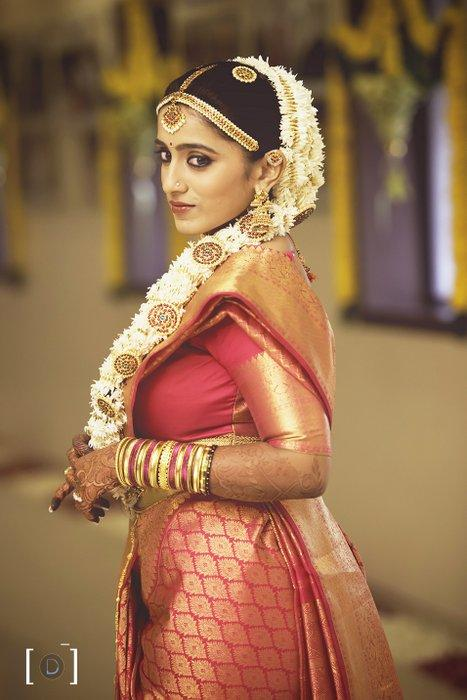 South Indian Wedding Hairstyle 7