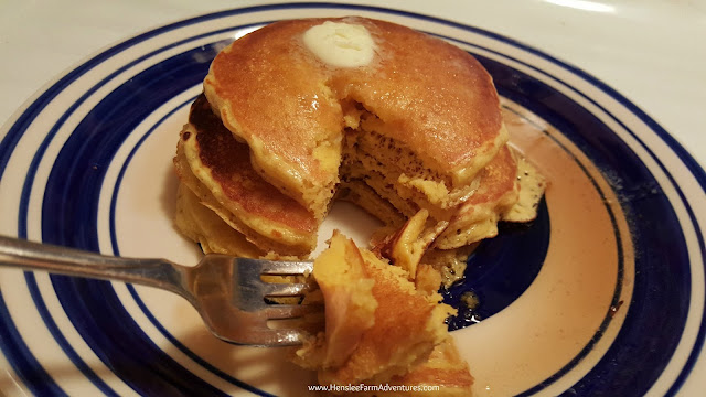 Gluten Free Pancakes   www.HensleeFarmAdventures.com