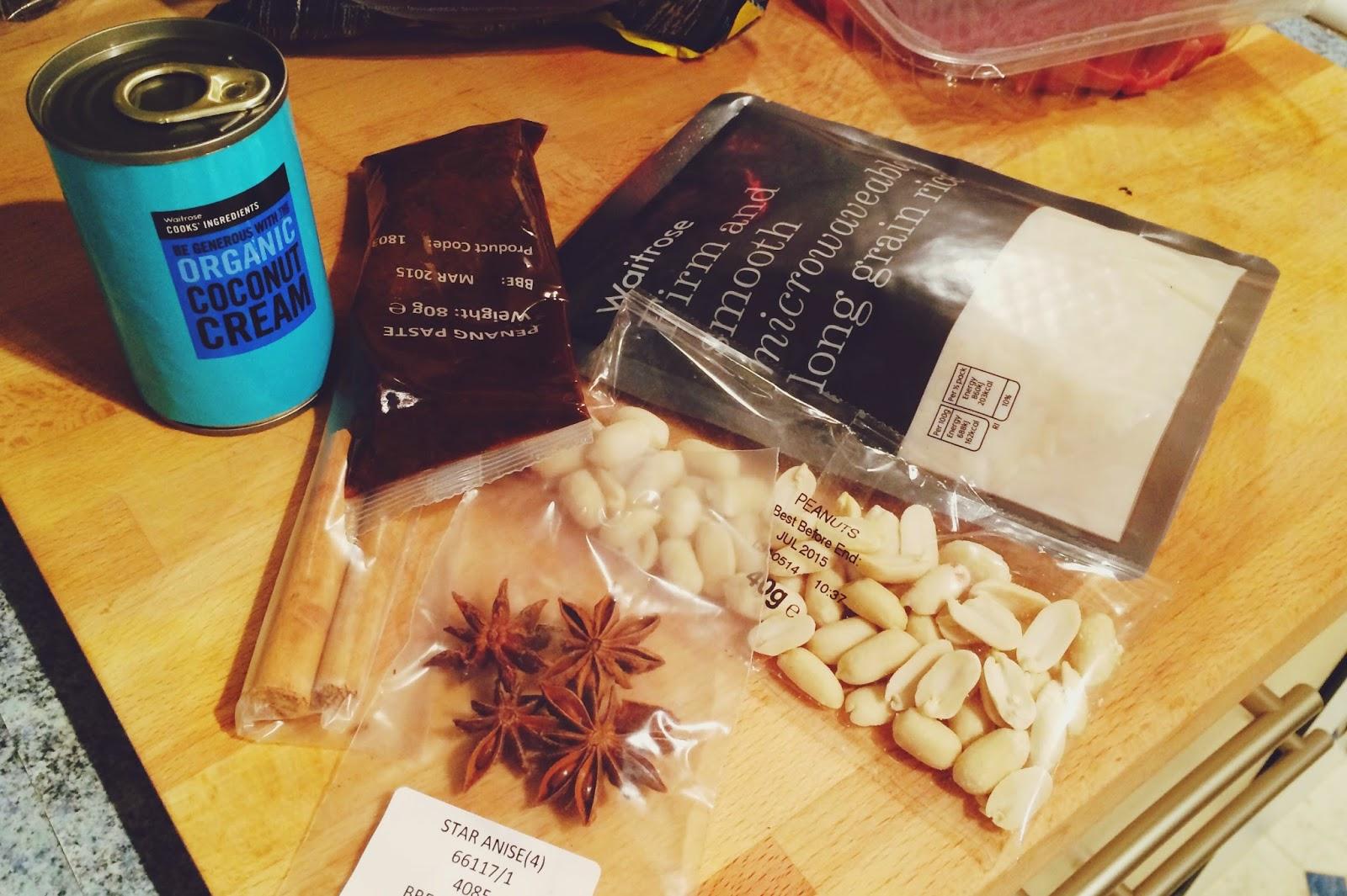 Waitrose Malay Penang kit, Waitrose recipe kit review, FashionFake