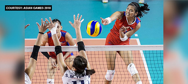 Philippine Team Roster for the 2018 Asian Women's Volleyball Cup