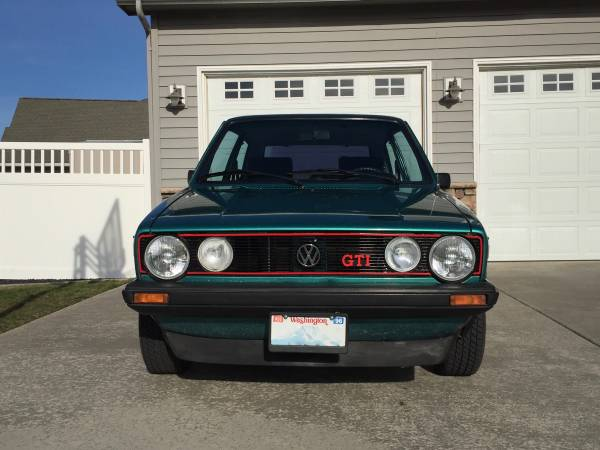 1977 Vw Rabbit Mk1 Gti For Sale Buy Classic Volks