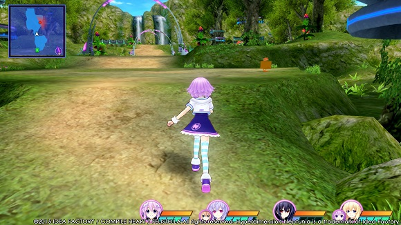 Hyperdimension Neptunia Re Birth3 V Generation PC Full Version Screenshot 1