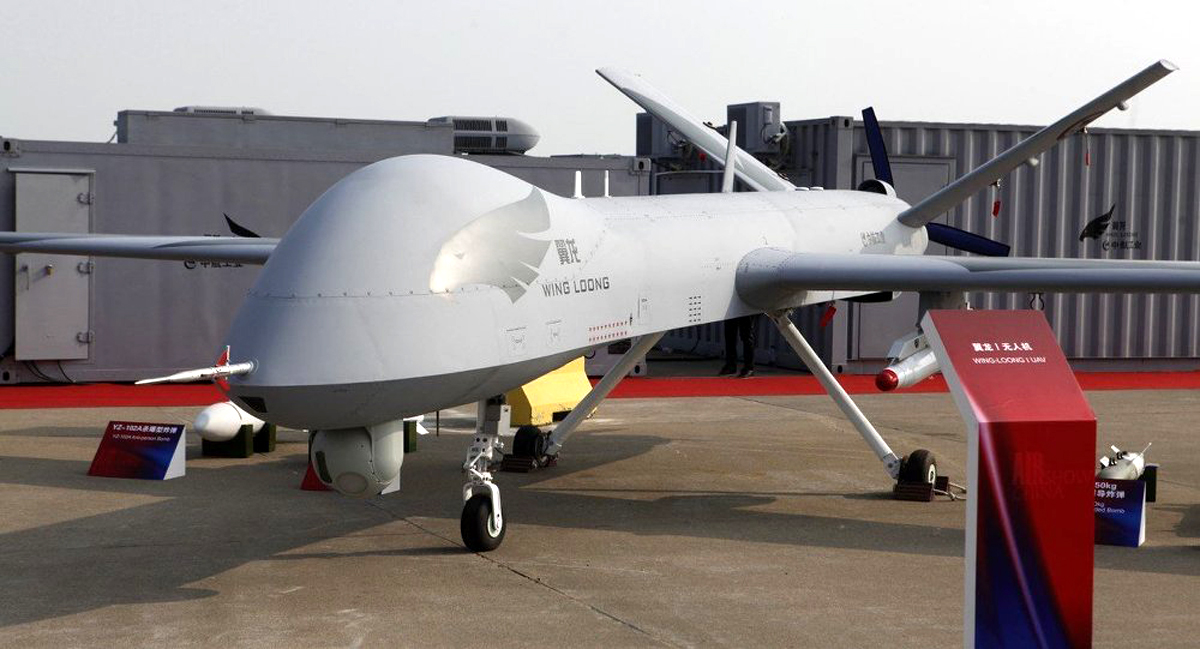 Long-Endurance Unmanned Aerial Vehicles (MALE UAV) Wing Loong I