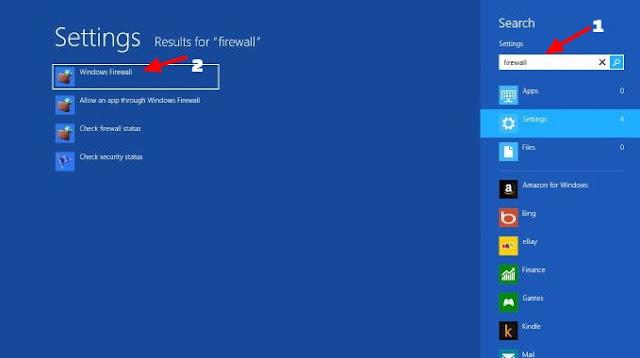 ini sanggup dilakukan dengan beberapa langkah gampang dan cepat Cara Mematikan Firewall Windows 7 8 10 Dijamin Work 100%