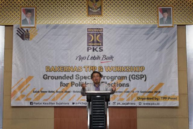 All Out Menangkan Prabowo-Sandi, PKS Gelar Rakernas