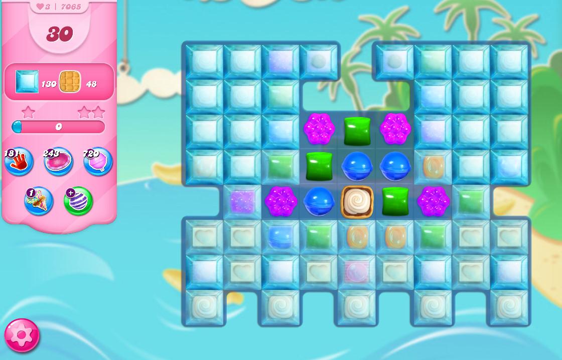 Candy Crush Saga level 7065