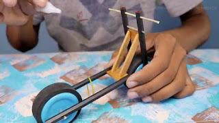 membuat sendiri motor mainan elektrik bisa jalan