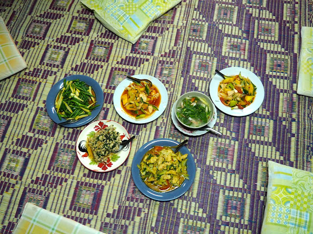 Homestay dinner in Krabi, Thailand