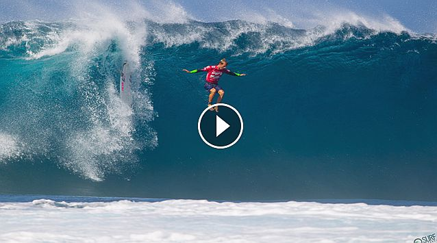 The Worst Wipeouts of the Billabong Pipe Masters