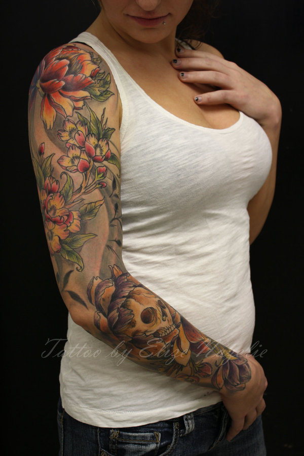 Galeria DeTatu: 2012 Sleeves Tattoo Aart for Hot Women New