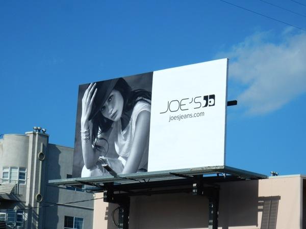 Joes Jeans SS16 hat billboard