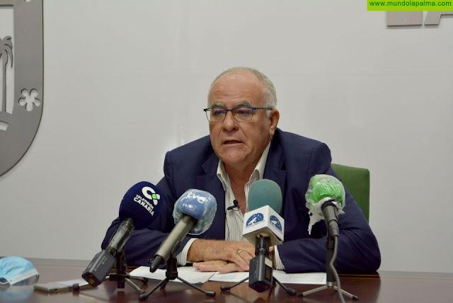 Carlos Cabrera habla de las distintas acciones para hacer frente a la sequía