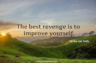 Ali ibn Abi Talib Revenge Quote