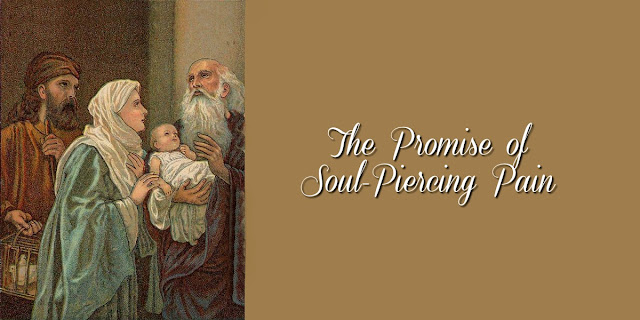 Mary and Joseph Were Promised Soul-Piercing Pain - Luke 2:22-40