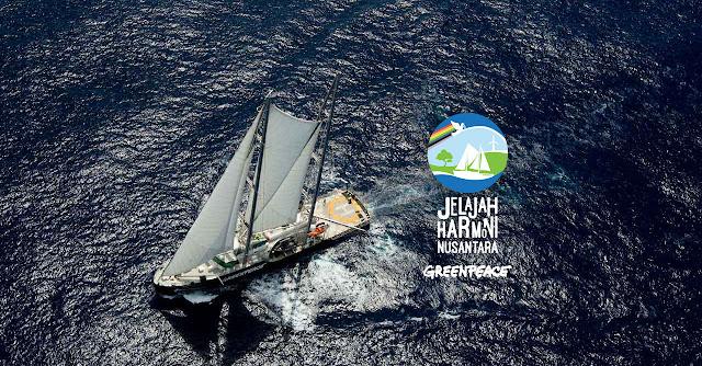 ini Agenda Tur Kapal Rainbow Warrior di Jakarta