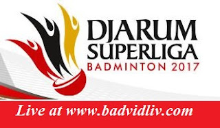Indonesia Djarum Superliga Badminton 2017 live streaming