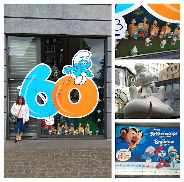 Smurfs in Brussels