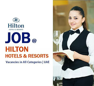 JOBS IN HILTON UAE - 2018