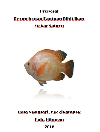 Proposal Permohonan Bantuan Bibit Ikan