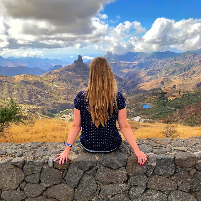 damazprowincji.blogspot.com, górskie widoki, gran canaria, wyspy kanaryjskie