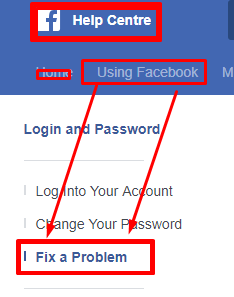 how to share blocked website link with facebook