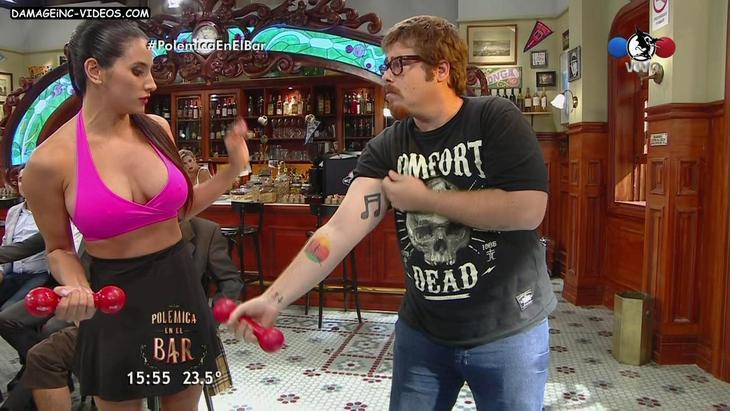 Soledad Cescato big boobs and nipples damageinc videos HD