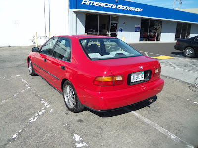 Almost Everything's  Car of the Day is a 1993 Honda Civic