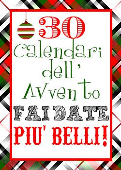 Natale Calendario.Voglia Di Natale I 30 Calendari Dell Avvento Fai Dai Da Te