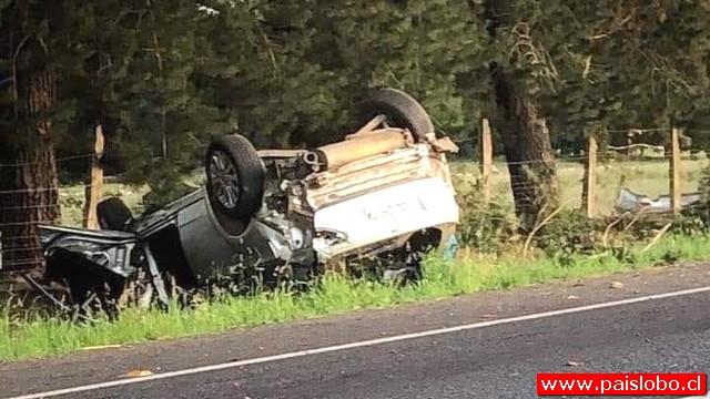 Fatal accidente vehícular en la comuna Río Bueno
