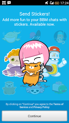 FREE! Unduh File APK BBM For Android (Update 2 April 2014) With New Stickers