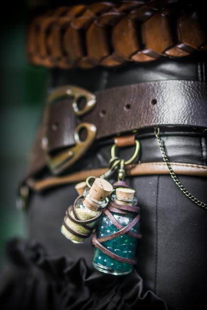 Steampunk-Faun Detail| Photo: Natascha Sonner | www.zeitunschaerfe.de