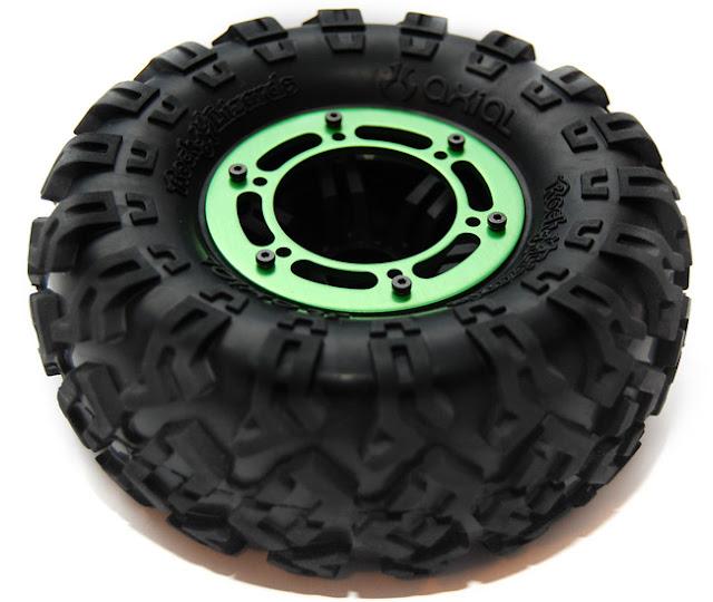 Axial AX10 aluminum beadlock wheels