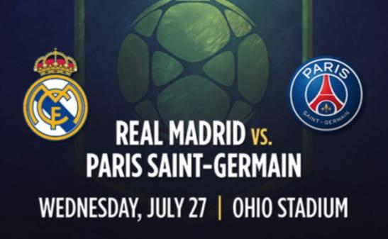 Real Madrid Vs PSG Live Stream ICC 2016