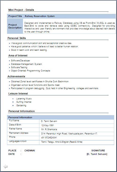 Free Sample Resume Free Resume Example Download Iti Fitter Resume Format