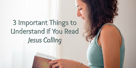 "Before Reading ""Jesus Calling"""