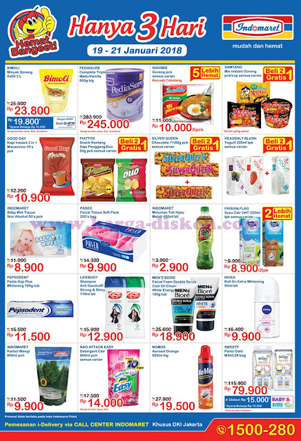 Promo INDOMARET Katalog JSM INDOMARET Akhir Pekan Periode 19 - 21 Januari 2018