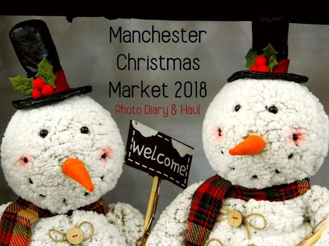 Manchester Christmas Markets, 2018