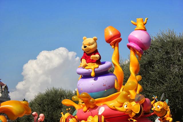 Winnie the Pooh Parade Float Tokyo Disneyland
