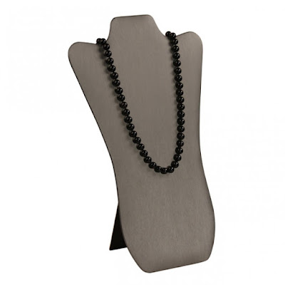 Shop Nile Corp Wholesale Faux Leather Necklace Display
