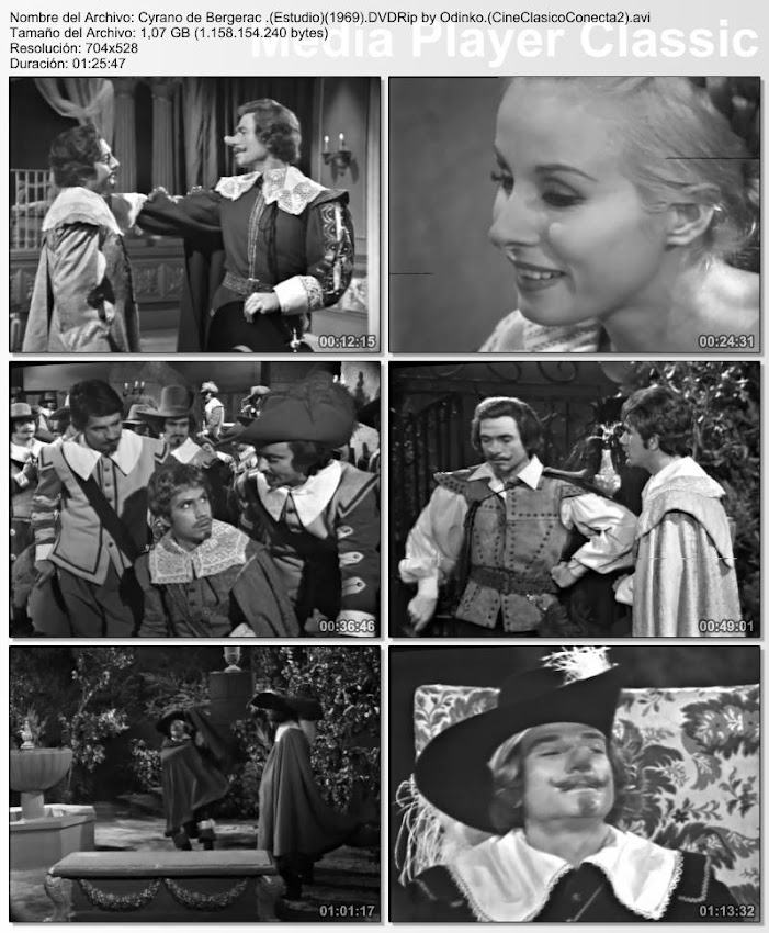 Cyrano de Bergerac (1969) | Capturas de pantalla