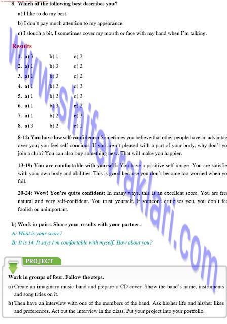 8. Sınıf İngilizce Ders Kitabı Cevapları Tutku Yayınları Sayfa 27