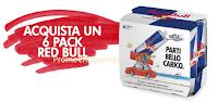 Logo Vinci 100 forniture Red Bull Energy Drink e 10 soggiorni con la Scuderia Toro Rosso