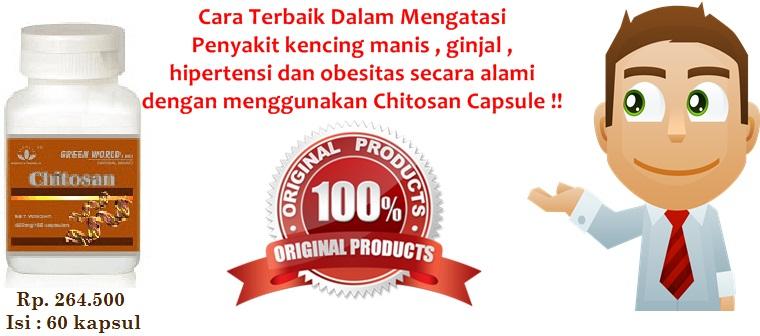 Obat Alami Chitosan Capsule