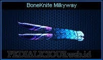 BoneKnife Milkyway