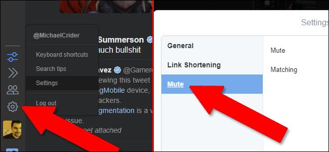 attivazione estensione blocco tweet