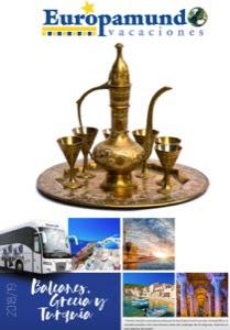 Catálogo de viajes Circuitos por Europa Mediterránea