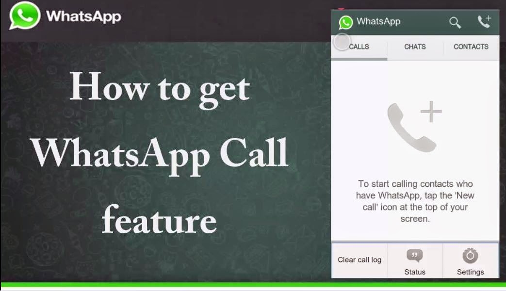 How to Activate WhatsApp Call feature on your WhatsApp - Step by Step