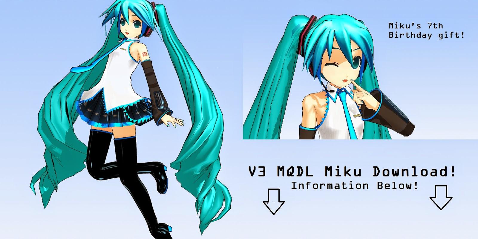 Utau XL: MMD Model Downloads